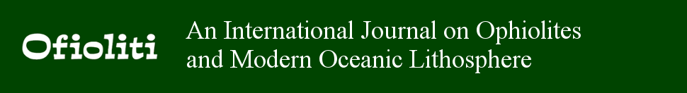 Ofioliti - International journal on ophiolites and oceanic litosphere